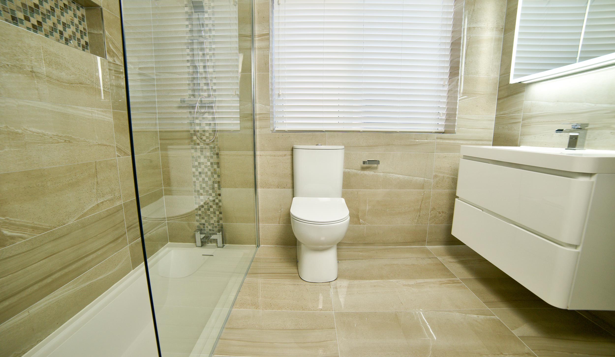 Affordable luxury bathrooms, kitchens & tiles